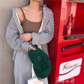春夏女裝韓版彈力修身顯瘦糖果色外穿吊帶背心短款百搭打底衫上衣  米娜小鋪