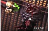 小葉紫檀手串216顆6mm男女式佛珠長款簡約檀香木配飾民族風手錬  朵拉朵衣櫥