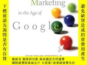 二手書博民逛書店Marketing罕見In The Age Of GoogleY256260 Vanessa Fox Wile