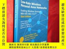 二手書博民逛書店Low-Rate罕見Wireless Personal Area