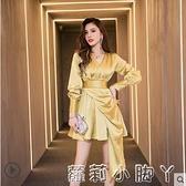 名媛小禮服平時可穿2020新款女宴會氣質仙氣輕奢晚禮服裙年會裙子 NMS蘿莉新品