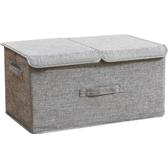 摺疊衣服收納箱布藝小號裝衣物收納盒