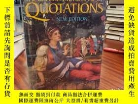 二手書博民逛書店The罕見Oxford Dictionary of Quotat