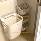 臟衣籃衣服收納筐 家用浴室壁掛式桶掛墻放洗衣簍婁框裝籃【少女顏究院】