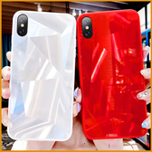 華為保護殼 Y7 Pro 2018 Y7Prime 3D鏡面手機殼 全包邊防摔手機殼 純邊軟邊 防刮 菱形鐳射鑽石紋