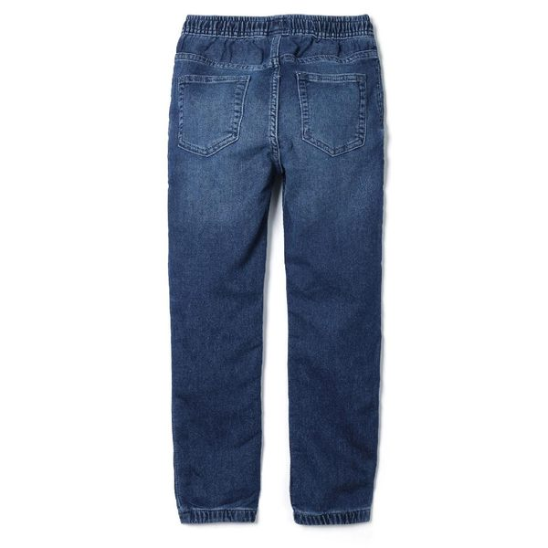 Gap男童 柔軟舒適牛仔運動褲 849378-中度水洗