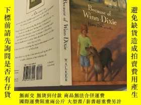 二手書博民逛書店Because罕見of Winn Dixie:因為Winn DixieY200392