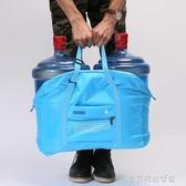 可折疊大容量輕便攜旅行包袋飛機包拉桿箱健身包短途手提行李包女 夢露時尚女裝