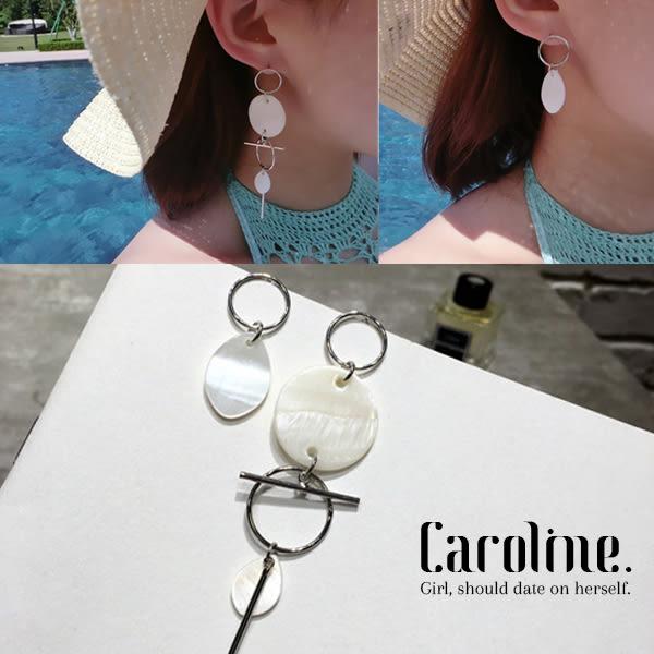 《Caroline》★韓國時尚熱賣 優雅浪漫風格時尚流行耳環68869
