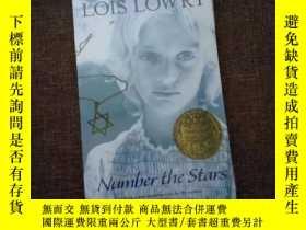 二手書博民逛書店數星星罕見英文版 Number the Stars Lois Lowry 紐伯瑞作品文學小說Y469948 紐