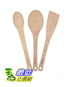 [美國直購] Epicurean B01BKWYJ3U 鍋鏟瓢三件裝 Kitchen Series 3-piece Utensil Set, Natural