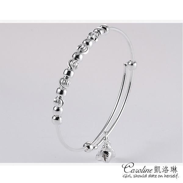 《Caroline》★【疼惜】925銀手環.典雅設計優雅時尚品味流行時尚手環68205
