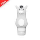 [現貨] 怪怪動物旅行吸盤分裝瓶《小白馬70ml》空瓶 旅行 出國 沐浴乳 洗手乳 洗髮乳 乳液瓶