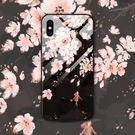 華為 手機殼 p20 Pro 彩繪玻璃手機殼 p20 pro 梅花油畫 防摔手機套 huawei p20 時尚 個性創意 手機殼