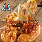 【南紡購物中心】東港華得.5.5吋純手工餅皮披薩-香辣雞*5+夏威夷*5(1片/包,共10包)