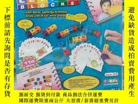 二手書博民逛書店LETTER罕見BLOCKS:LEARN WORDS SPELL