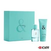 Tiffany & Love for Her 愛語女性淡香精禮盒50ml ( 兩件組 )*10點半美妝館*