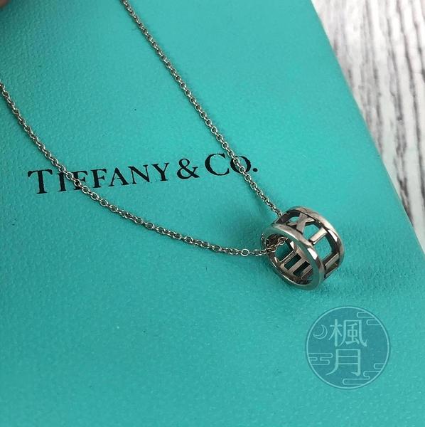 BRAND楓月 TIFFANY&CO. 蒂芬妮 羅馬字雕刻 細鍊 項鍊 飾品 配件