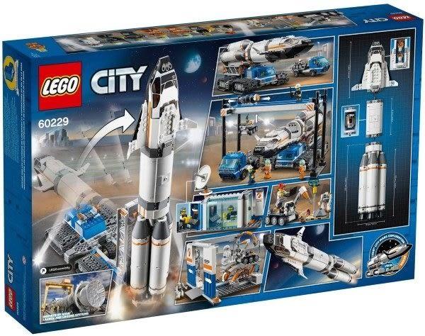 【LEGO樂高】CITY 火箭裝配及運輸 #60229