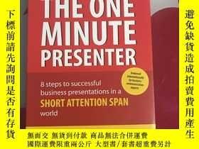 二手書博民逛書店英文原版罕見The one minute presenterY2