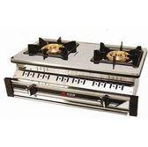 和家 崁入式 不銹鋼面板瓦斯爐 SK-700 / SK700 雙環爐頭* 天然瓦斯專用..
