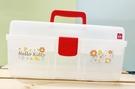 【震撼精品百貨】Hello Kitty 凱蒂貓~三麗鷗HELLO KITTY塑膠手提工具箱/收納盒*81000