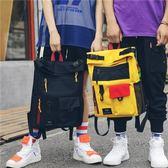 情侶包帆布書包背包女學生日系校園簡約【聚寶屋】