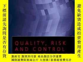 二手書博民逛書店Quality,罕見Risk And Control In Health CareY364682 Ellie