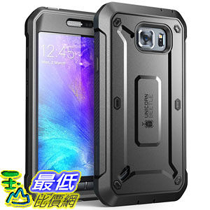 [104美國直購] SUPCASE [Unicorn Beetle PRO Series] Samsung Galaxy S6 Active Case 手機殼 保護殼 黑白藍綠 四色可選