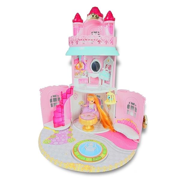 MIMI WORLD 迷你MIMI長髮公主城堡 【鯊玩具Toy Shark】