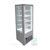JCM 228公升 冷藏展示櫃 SC-228F 直立四面玻璃 適用 KTV、酒吧、超市