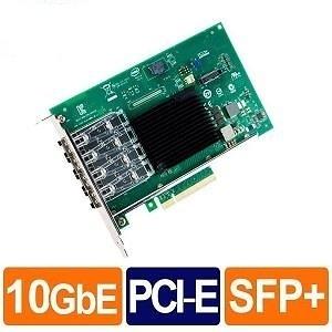Intel X710-DA4FH (全高)10G 四埠 光纖/Fiber 網路卡(Non-GBIC)(Bulk)