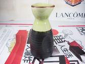 日式清酒壺綠色冰裂3 入
