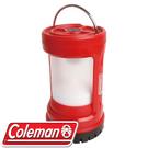 【Coleman 美國 BATTERYLOCK PUSH 營燈 紅】CM-27296/營燈/露營燈