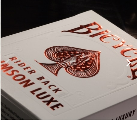 【USPCC 撲克】Bicycle FOIL RED playing cards