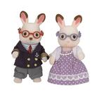 森林家族 人偶 可可兔爺爺奶奶組