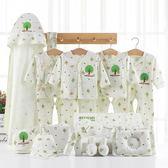 滿月禮盒 新生兒衣服純棉套裝禮盒0-3個月6剛出生初生滿月嬰兒寶寶用品 魔法空間