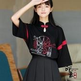 原創設計中國風京劇臉譜女裝套裝裙子上衣兩件套夏裝2020新款潮