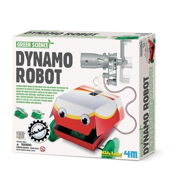 大嘴巴機器人 Dynamo Robot 帶你的新寵物去溜溜