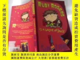 二手書博民逛書店RUBY罕見ROGERS IS A WASTE OF SPACE魯比·羅傑斯是在浪費空間Y200392