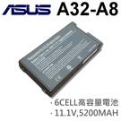 ASUS 6芯 日系電芯 A32-A8 電池 70-NNN1B1000Y 70-NNN2B1100PZ 70-NEM2B1400Z 70-NEM2B1000Z