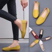 618年㊥大促 2019四季新款頭層牛皮豆豆鞋平跟平底真皮單鞋休閒工作鞋女鞋