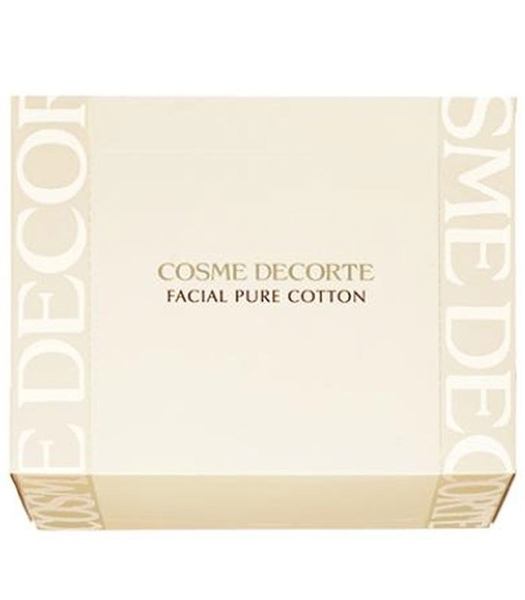 COSME DECORTE 高級純柔化妝棉N 100枚 Facial Pure Cotton N 100Sheets