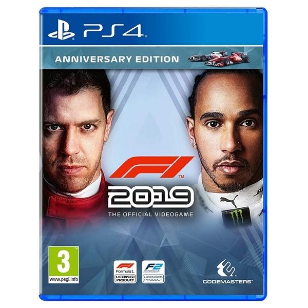 PS4 遊戲片 F1 2019周年版 方程式賽車 一級方程式賽車