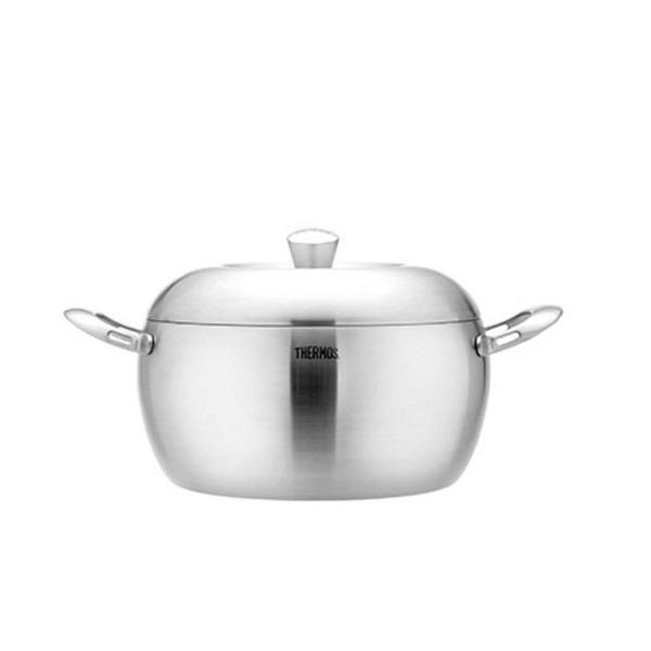 【南紡購物中心】膳魔師【SAN-W24】24公分新一代蘋果原味鍋雙耳湯鍋