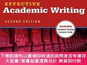 簡體書-十日到貨 R3YEffectiveAcademic Writing 2e Student Book 3 (effective Ac