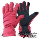 【 PolarStar 】女防水保暖觸控手套『紅』P18612 可觸控手套.防風手套.保暖手套.防滑手套.刷毛手套