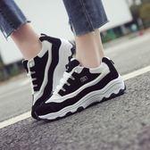 時尚運動鞋韓版ulzzang百搭休閒鞋學生跑步鞋女鞋