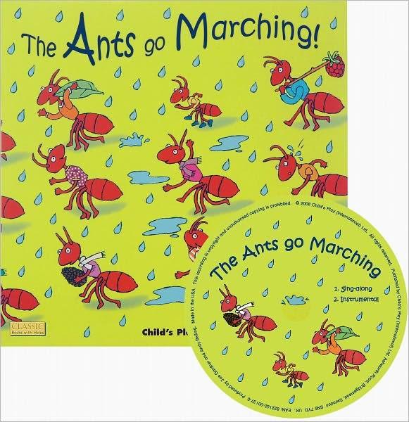 【麥克書店】THE ANTS GO MARCHING ! /英文繪本+CD《主題: 數數--乘法》