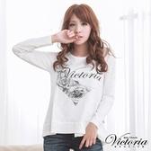 Victoria 愛心薔薇印染上衣-女